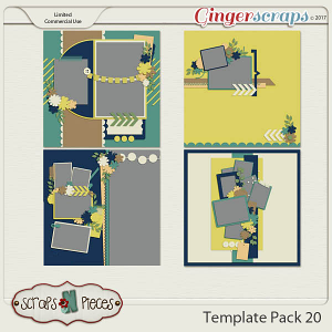 Template Pack 20 - Inspired by AmyJ