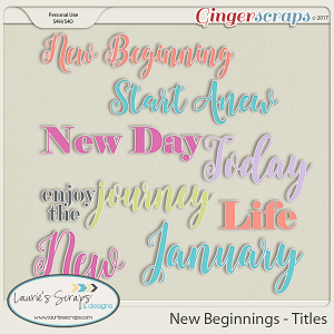 New Beginnings - Titles