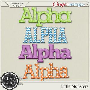 Little Monsters Alphabets