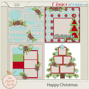 The Cherry On Top Happy Christmas Templates
