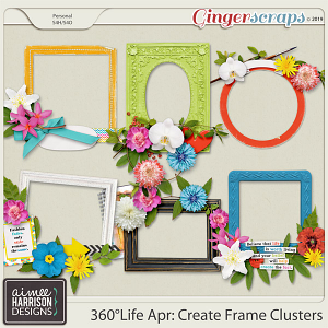 360°Life Apr: Create Frame Clusters by Aimee Harrison