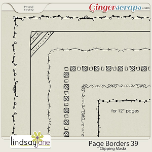 Page Borders 39 by Lindsay Jane