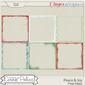 Peace & Joy - Page Edges by Connie Prince