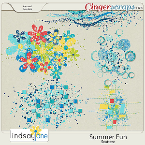 Summer Fun Scatterz by Lindsay Jane