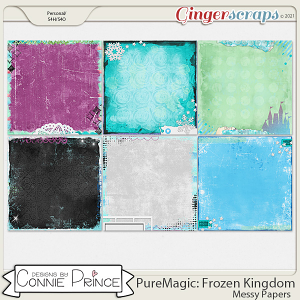 PureMagic: Frozen Kingdom - Messy Papers by Connie Prince