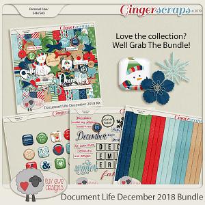 Document Life December 2018 Bundle by Luv Ewe Designs