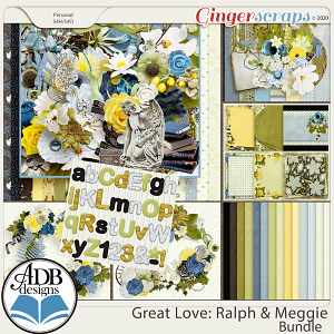 Great Love: Ralph & Meggie Bundle by ADB Designs