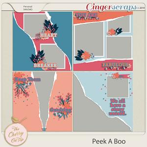 The Cherry On Top: Peekaboo Templates