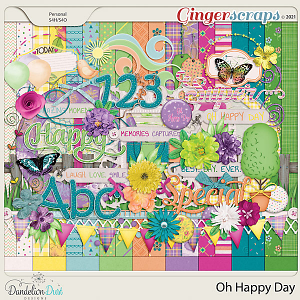 Oh Happy Day Collection by Dandelion Dust Designs