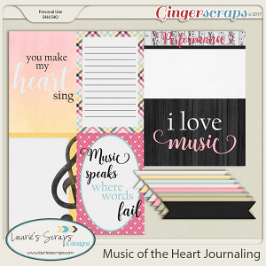 Music of the Heart Journaling Pack