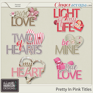 Pretty in Pink Titles by Aimee Harrison