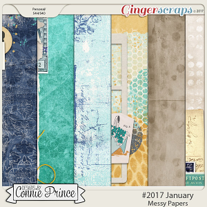 #2017 January - Messy Papers