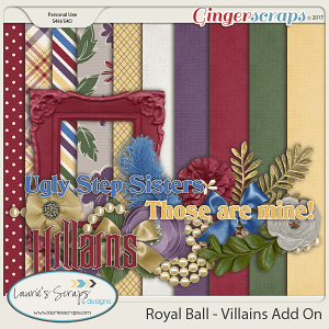 Royal Ball - Wicked Sisters Mini Kit