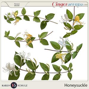 Honeysuckle by Karen Schulz