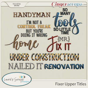 Fixer Upper Titles