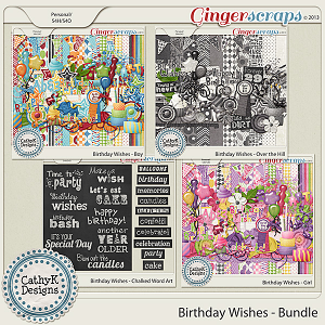 Birthday Wishes - Bundle