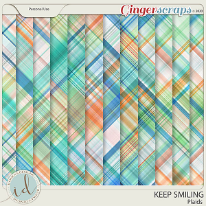 Keep Smiling Plaids by Ilonka's Designs
