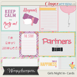 Girls Night In- Cards