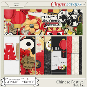 Chinese Festival - Grab Bag by Connie Prince