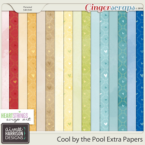 Cool By the Pool Extra Papers by Aimee Harrison and HSA