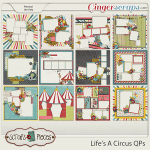 Life's A Circus Quick Pages