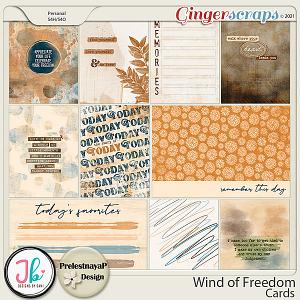 Wind of Freedom Cards by PrelestnayaP Design and JB Studio