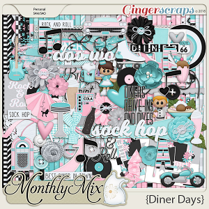 GingerBread Ladies Monthly Mix: Diner Days