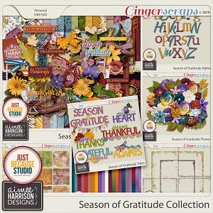 Season of Gratitude Collection by Aimee Harrison and JB Studio