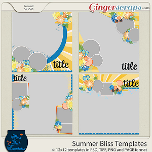 Summer Bliss Templates by Miss Fish