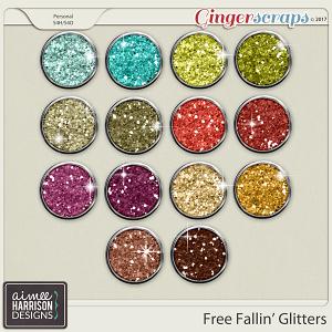 Free Fallin' Glitters by Aimee Harrison