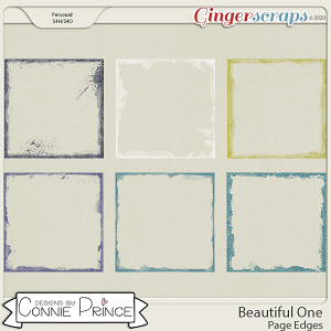 Beautiful One - Page Edges by Connie Prince