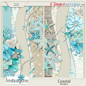 Coastal Borders by Lindsay Jane