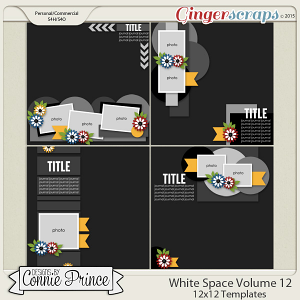 White Space Volume 12 - 12x12 Temps (CU Ok)