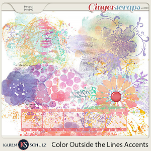 Color Outside the Lines Accents by Snickerdoodle Designs