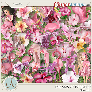Dreams Of Paradise Elements by Ilonka's Designs