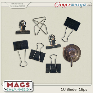 CU Binder Clips by MagsGraphics