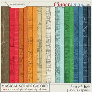 Best of Utah (bonus papers)