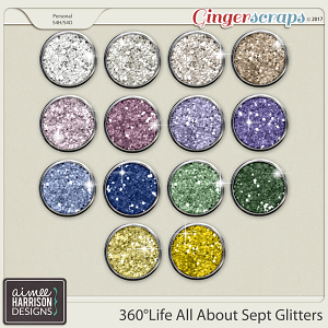 360°Life All About September Glitters by Aimee Harrison