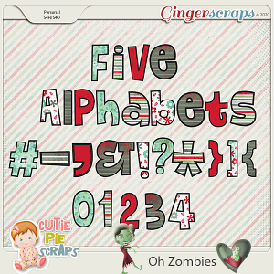 OH Zombies-Alphabets