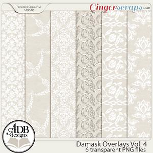 Damask Overlays Vol 04 by ADB Designs