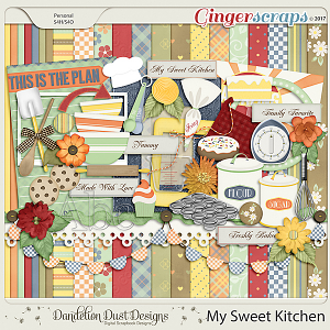 My Sweet Kitchen By Dandelion Dust Designs
