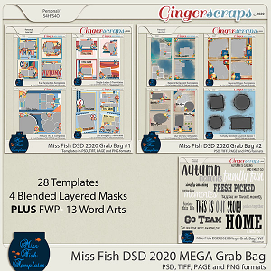 Miss Fish DSD 2020 Mega Grab Bag