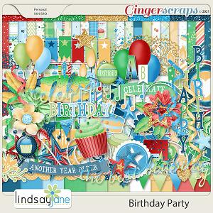 Birthday Party by Lindsay Jane