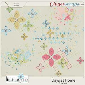 Days at Home Scatterz by Lindsay Jane
