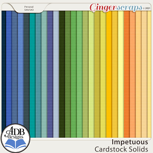 Impetuous Solid Papers by ADB Designs