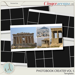 Photobook Creater Vol 5 by Ilonka's Designs