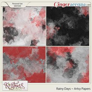 Rainy Days Artsy Papers