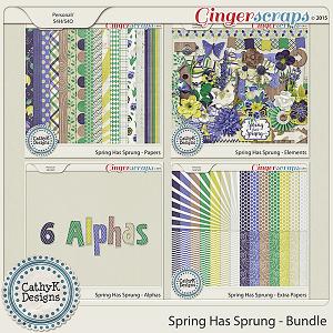 Spring Has Sprung - Bundle