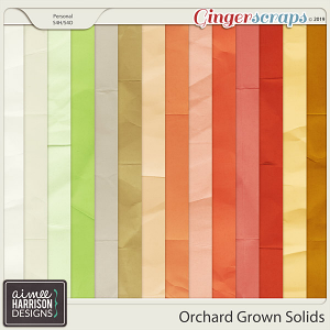 Orchard Grown Solid Papers by Aimee Harrison