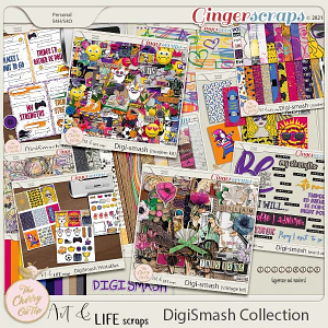 The Cherry On Top:  DigiSmash Collection
